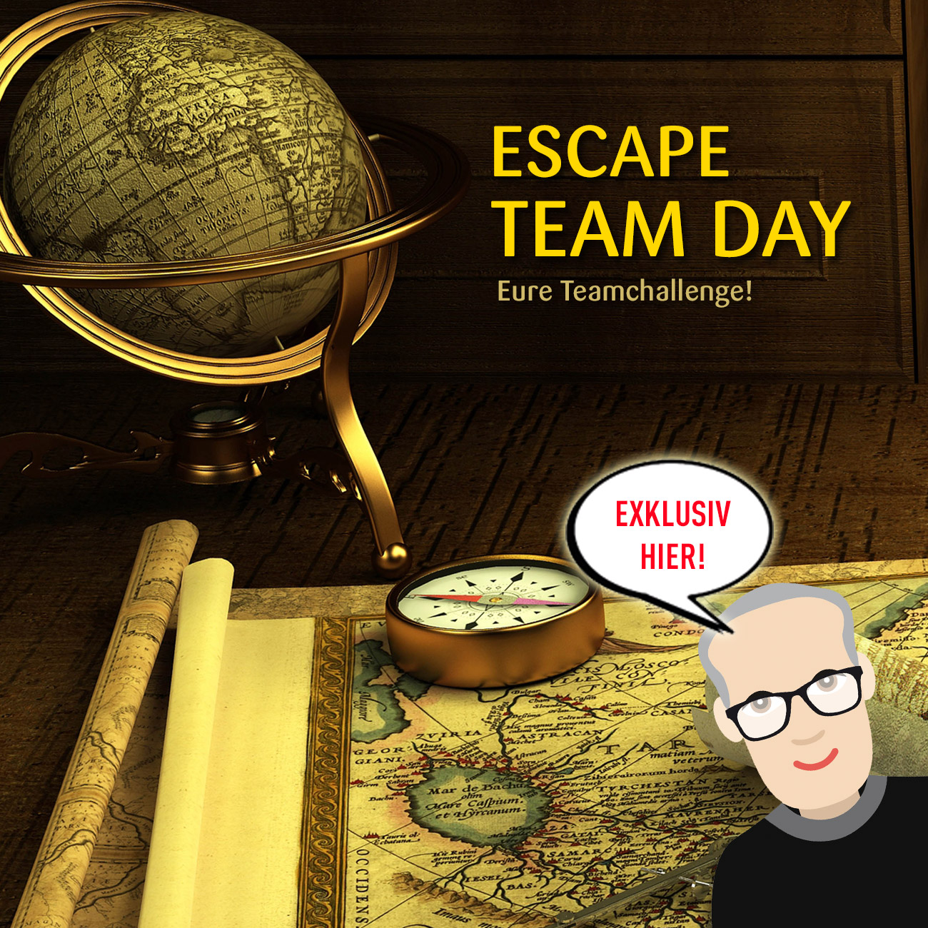 Escape Team Day · Nur im Team ...